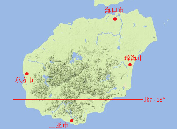 海南购房地形地貌和气候详细分析