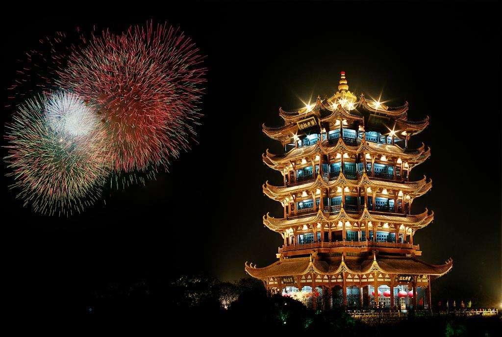 武汉景旅游景点—黄鹤楼