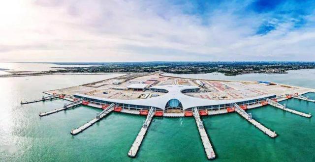 对接海南自贸港,全球最大客货滚装码头已经准备好了!