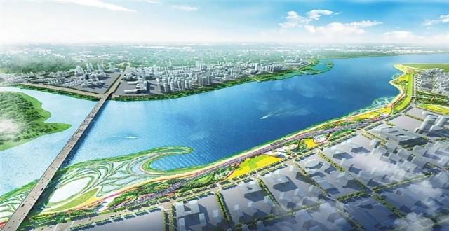占地超百万平方米!海口南渡江右岸公园设计方案出炉