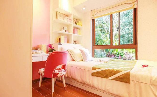 碧桂园海棠盛世样板间:卧室