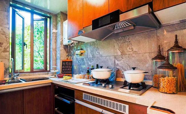碧桂园海棠盛世样板间:厨房