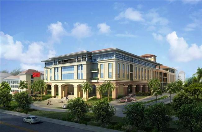 三亚学院B区创新创业孵化基地