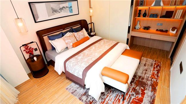 万科湖畔度假公园样板间:卧室