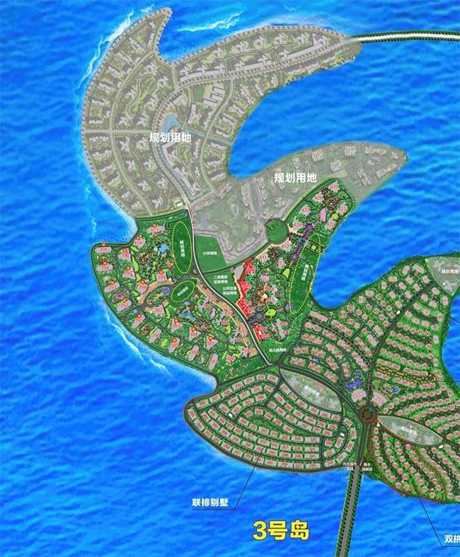 3号岛商铺位置分布图
