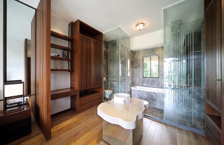 金泰南燕湾 样板间:卫浴室