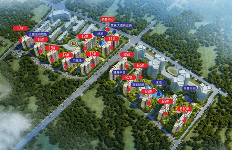 碧桂园十里繁花 规划图