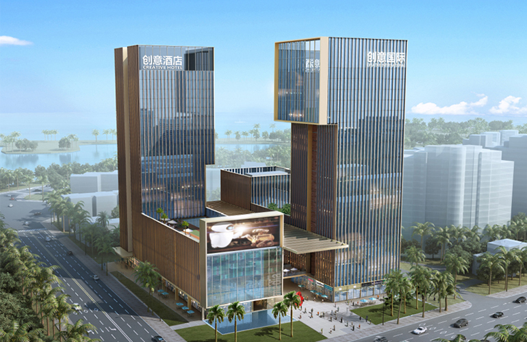 海南国际创意港二期鸟瞰图