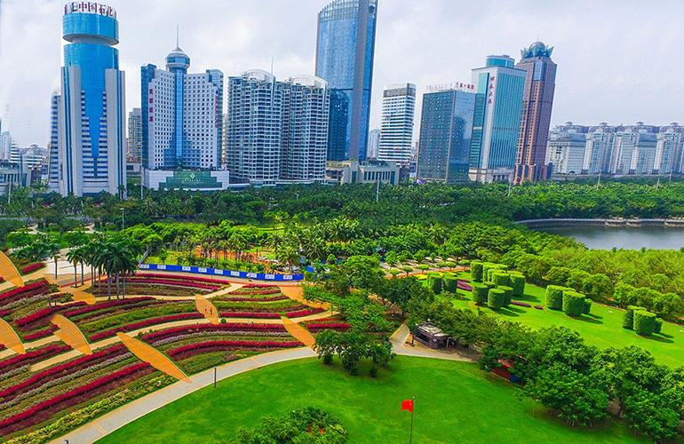海南国际创意港二期 周边配套:万绿园