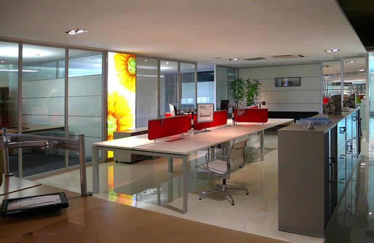 办公室设计意境图