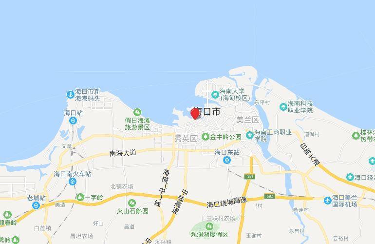 海南国际创意港二期 区位图