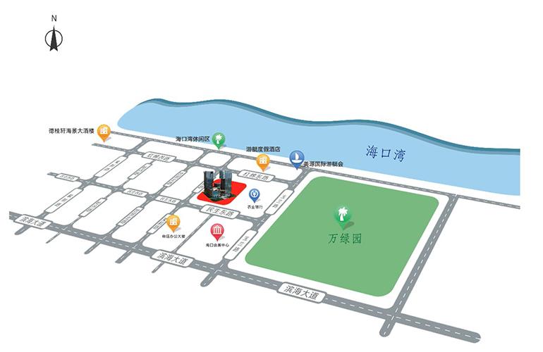 海南国际创意港二期区位图