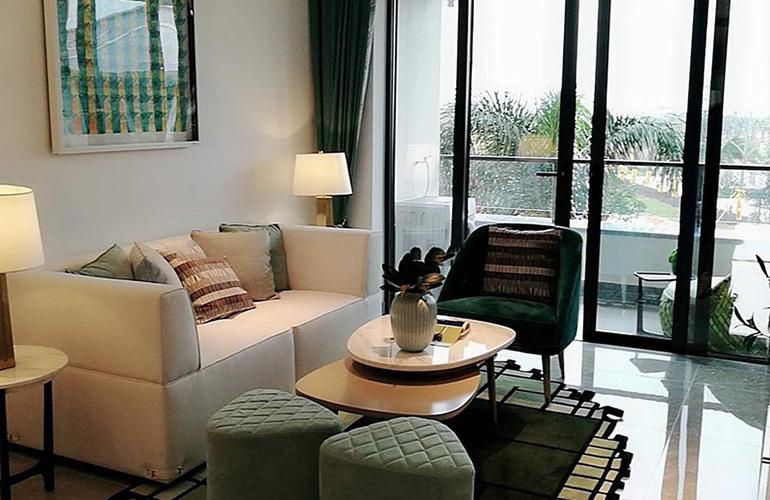 博鳌珊瑚湾样板间:客厅