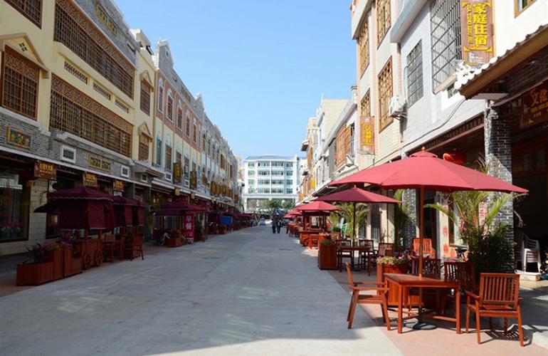 博鳌珊瑚湾 周边配套:博鳌风情小街
