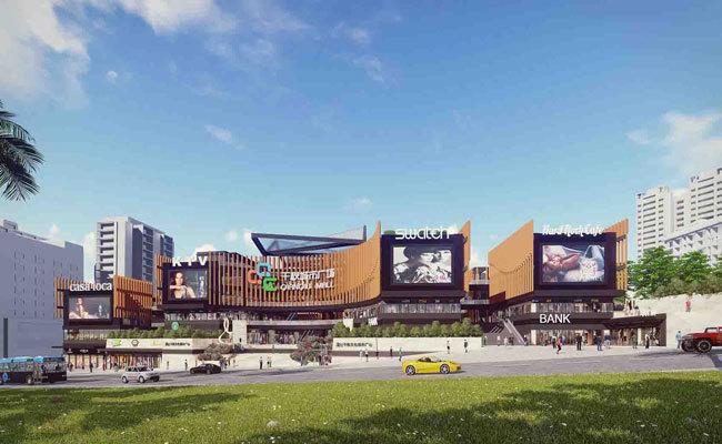 澄迈千秋城市广场50㎡二楼餐饮区商铺在售,均价27000元/㎡
