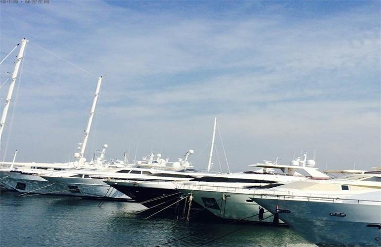 绿中海 游艇码头