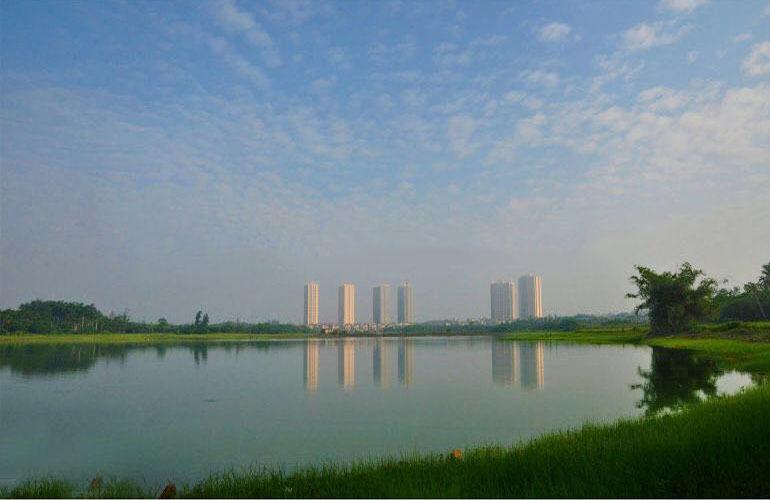 山湖海 实景图