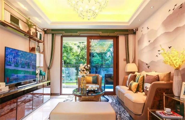 碧桂园海棠盛世客厅