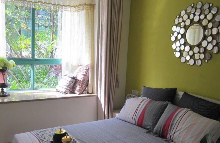 宝安兴隆椰林湾 样板间:卧室