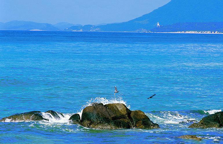中海神州半岛 海边风景