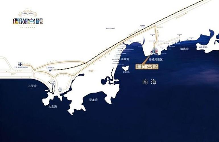 碧桂园珊瑚宫殿区位图
