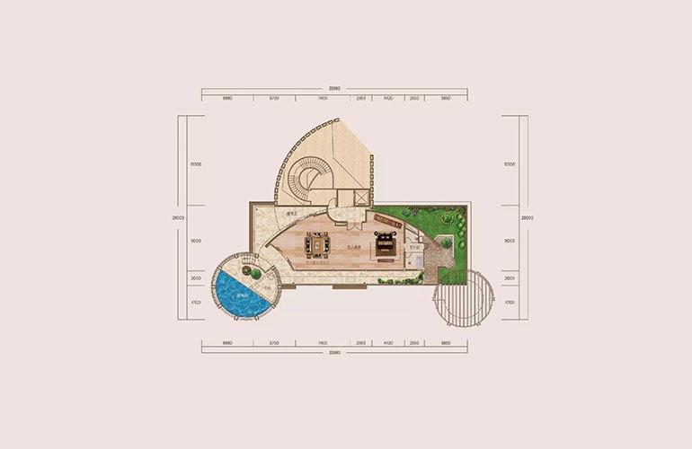 A户型-6室4厅8卫-第三层