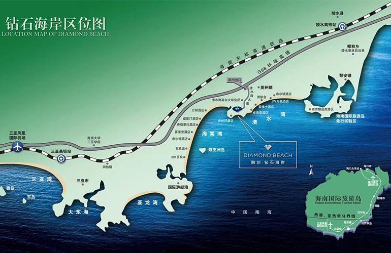 融创钻石海岸 区位图