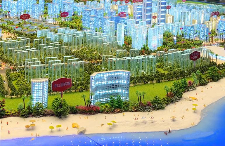 绿地新海岸 实景图