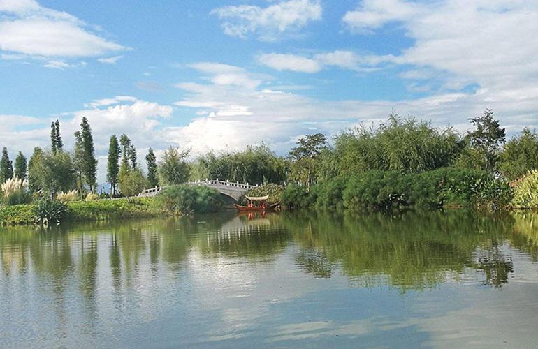 古滇名城别墅 周边配套:古滇精品湿地公园