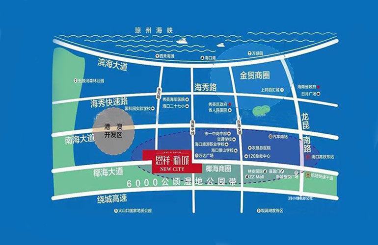 恩祥新城 区位图