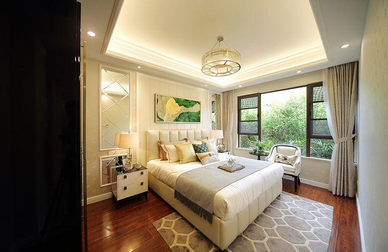 恩祥新城 樣板間:臥室
