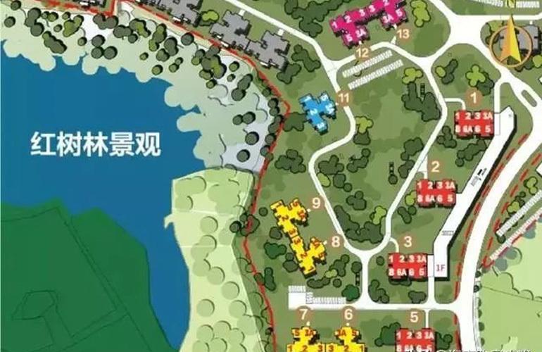 富力红树湾 规划图