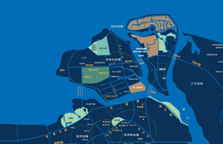 碧桂园中央半岛 区位图