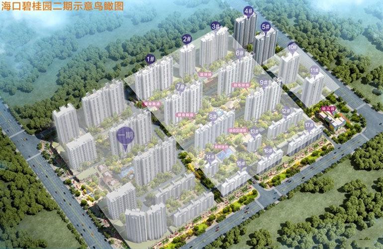 海口碧桂园 规划图