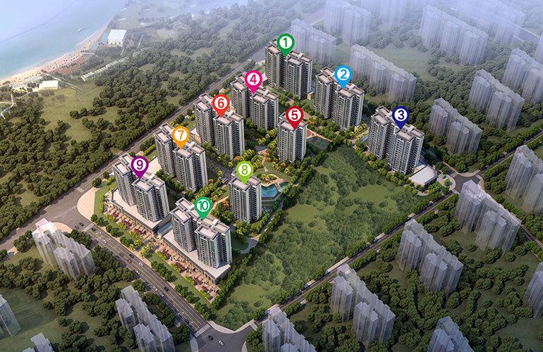 绿地城江东首府 规划图
