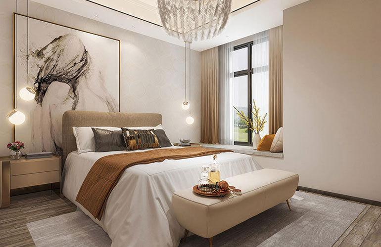 麓鸣海 样板间:卧室