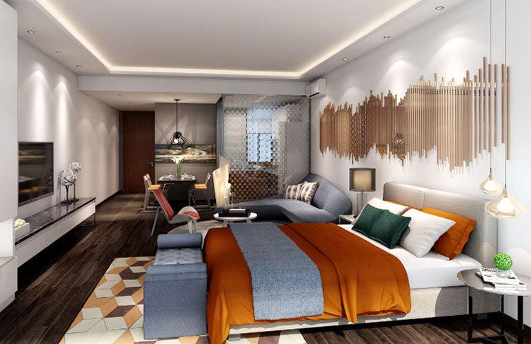 北海第一城 样板间:卧室