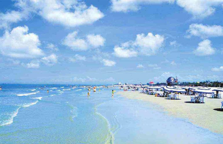 中电海湾国际社区 配套图:海滩