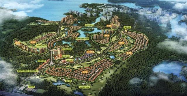 澄迈富力红树湾推出20套房源 均价约12000元/㎡