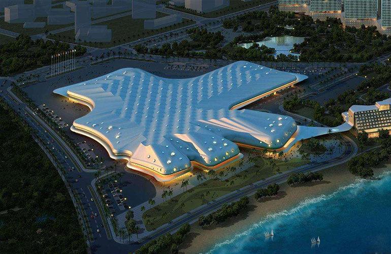 星华海岸城 周边配套:国际会展中心
