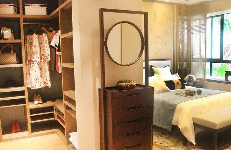 星华海岸城 卧室