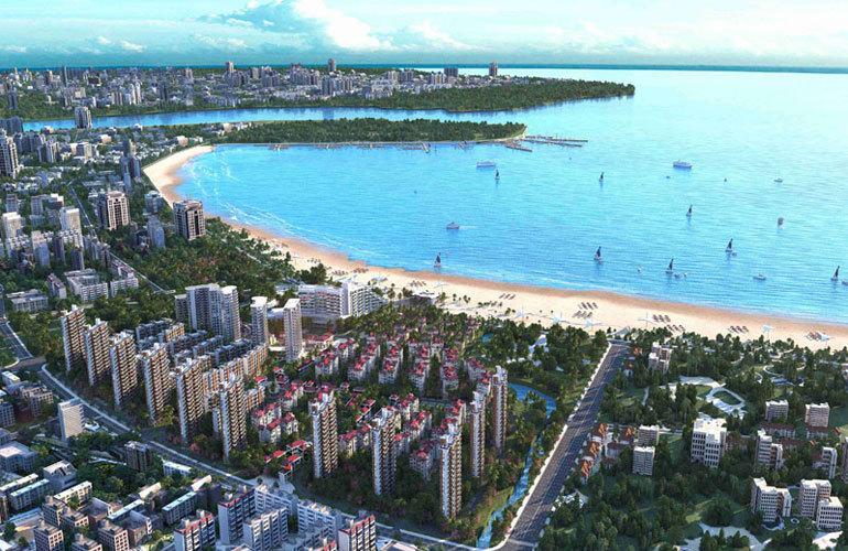 融创高隆湾实景图