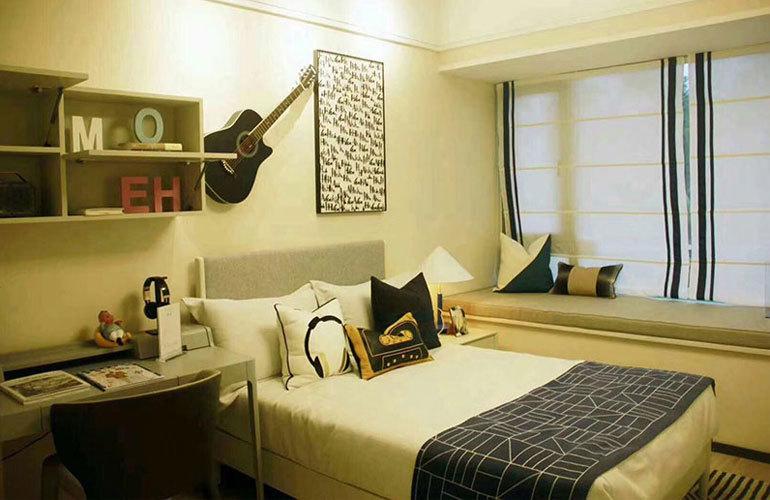融创高隆湾 样板间:卧室