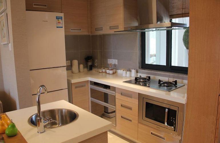 东汇森语林 样板间:厨房