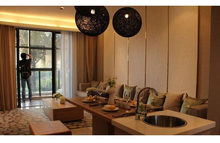 东汇森语林 样板间:客厅