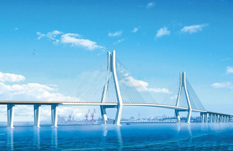 恒大金碧天下 配套图:洋浦跨海大桥