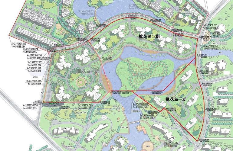 天隆三千海 规划图