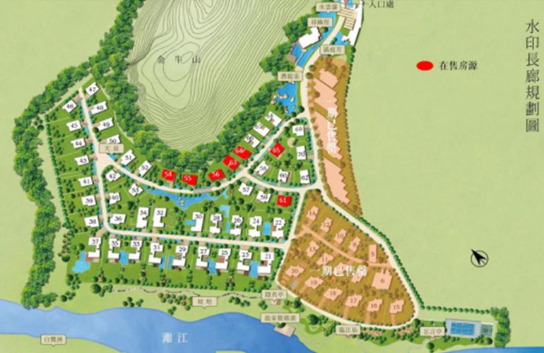 水印长廊 规划图