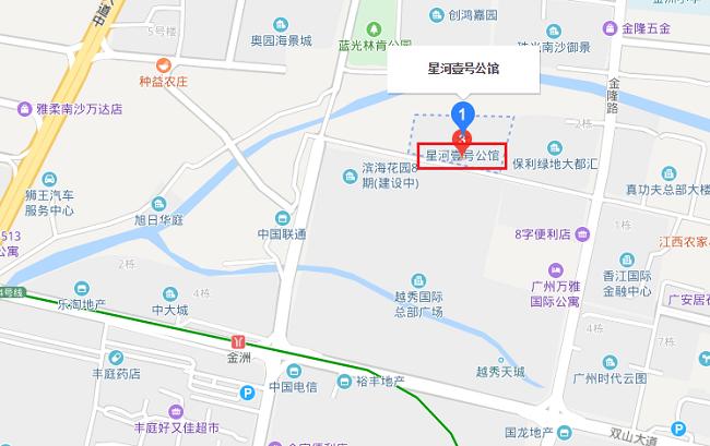 星河壹号公馆 区位图