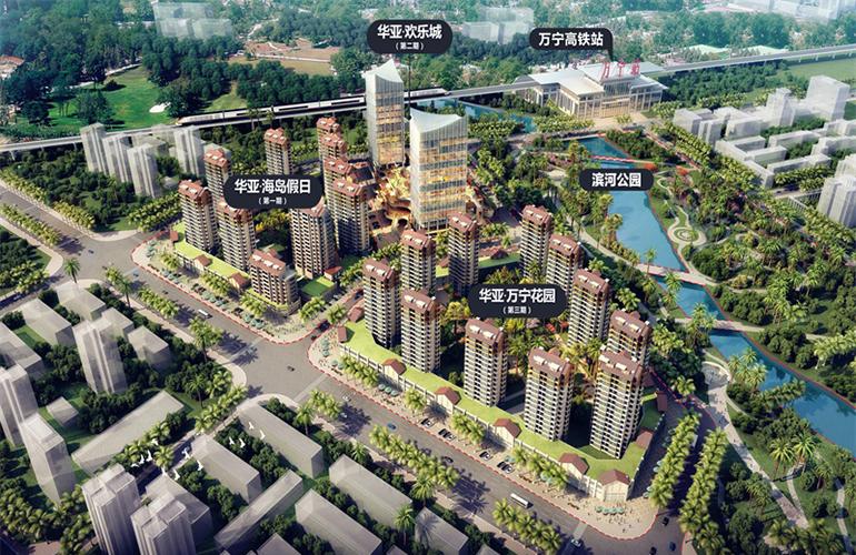 华亚欢乐城 规划图